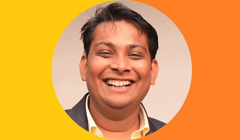 Abhishek Gupta, Account Manager, G Caffe